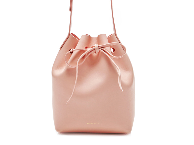 Mansur Gavriel Rosa Mini Bucket Bag