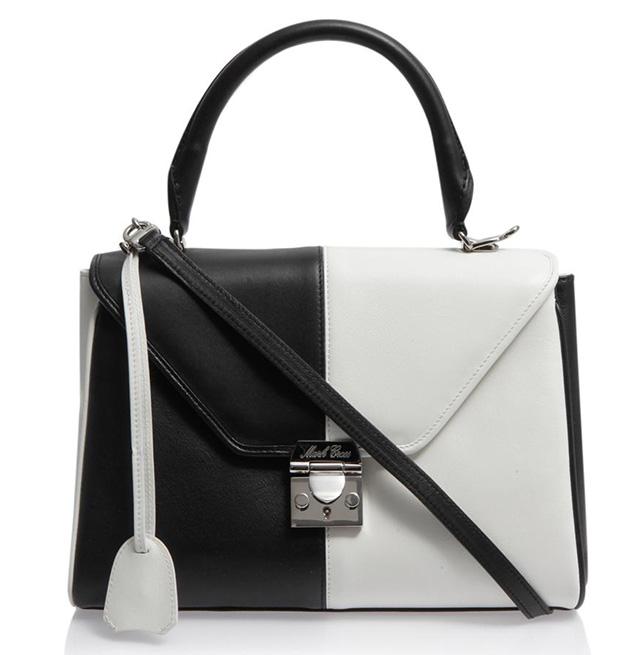 Mark Cross Bicolor Scottie Bag