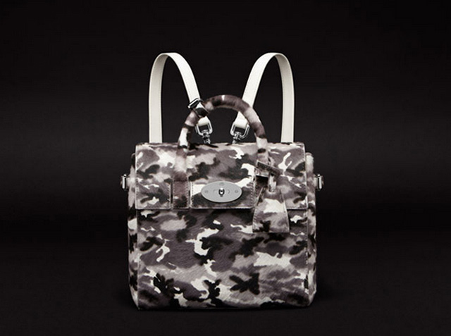 Mulberry Cara Delevingne Mini Camo Backpack