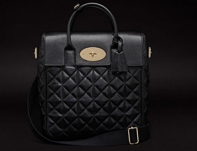 Mulberry Large Cara Delevingne Quilted Bag
