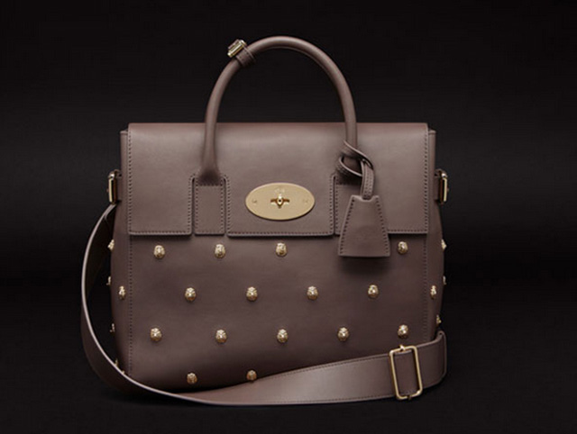 Mulberry Limited Edition Cara Delevingne Bag with Lion Studs