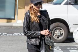 Naya Rivera Carries Vintage Chanel in LA