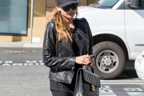 Naya Rivera Carries Vintage Chanel in LA