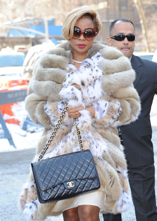 New York Fashion Week Fall 2014 Celebrity Handbags-1
