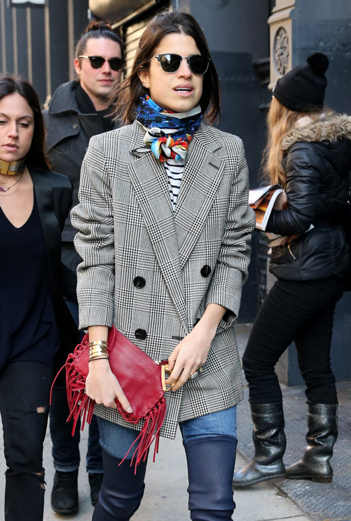 New York Fashion Week Fall 2014 Celebrity Handbags-10
