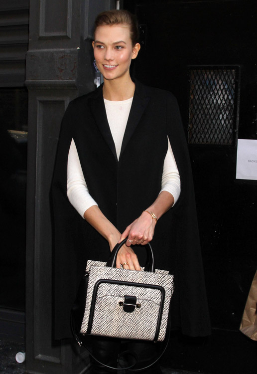 New York Fashion Week Fall 2014 Celebrity Handbags-11