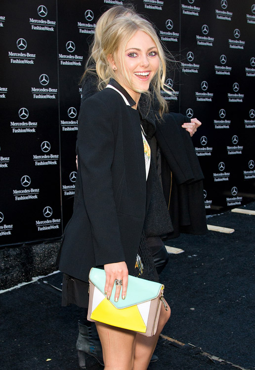 New York Fashion Week Fall 2014 Celebrity Handbags-17