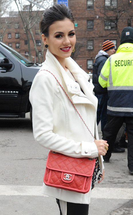 New York Fashion Week Fall 2014 Celebrity Handbags-22