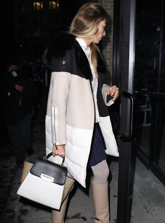 New York Fashion Week Fall 2014 Celebrity Handbags-25