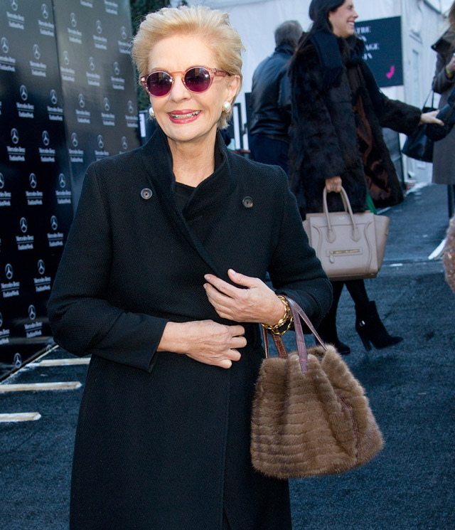 New York Fashion Week Fall 2014 Celebrity Handbags-37