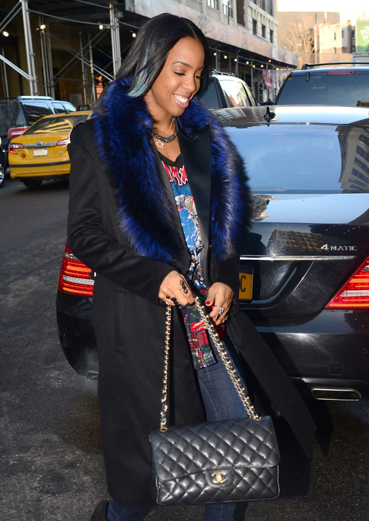 New York Fashion Week Fall 2014 Celebrity Handbags-42