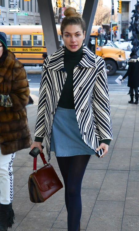 New York Fashion Week Fall 2014 Celebrity Handbags-43
