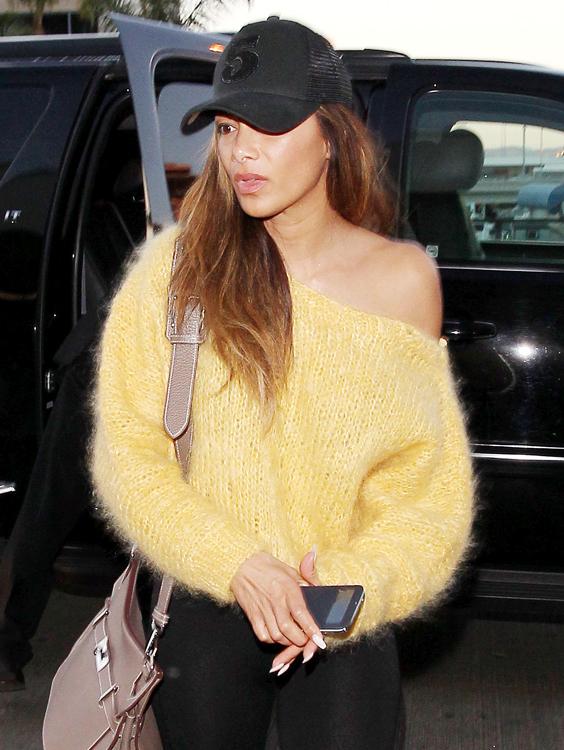 Nicole Scherzinger Hermes Jypsiere Bag 1