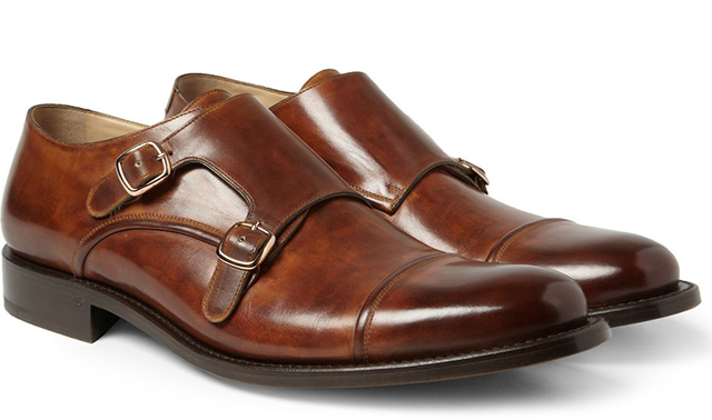 OKeefe Manach Monk Strap Shoes