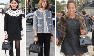 Spring 2014 Fashion Week Street Style Bags