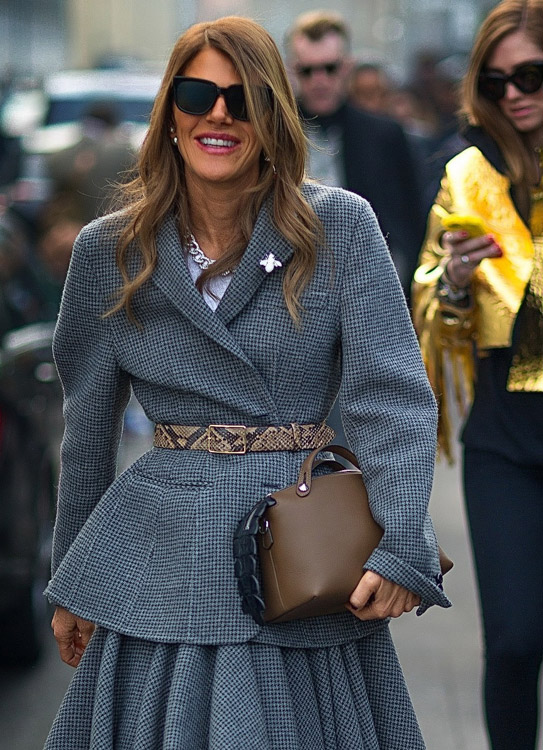 The Many Bags of Celebrities at Milan Fashion Week Fall 2014-15