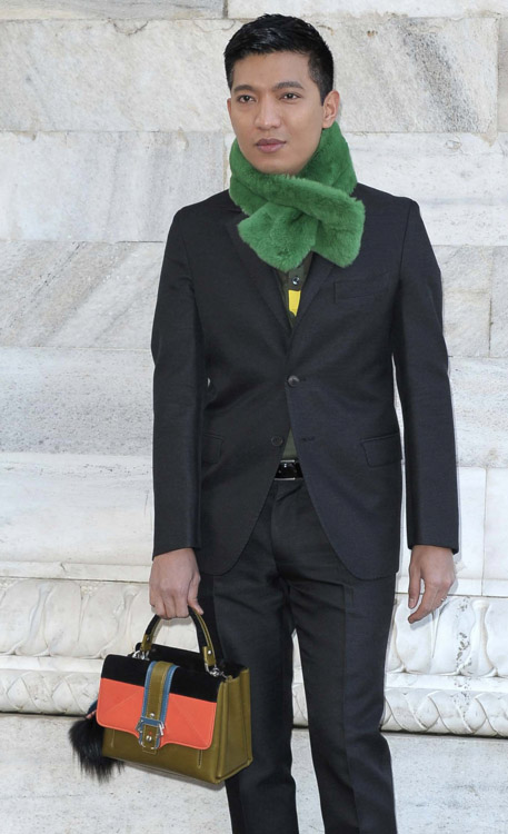 The Many Bags of Celebrities at Milan Fashion Week Fall 2014-25