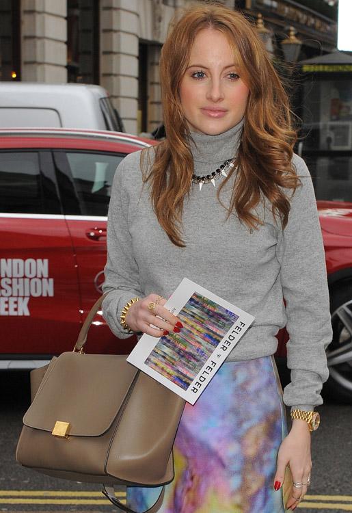 The Many Bags of London Fashion Week Fall 2014 Celebs-1
