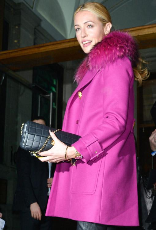 The Many Bags of London Fashion Week Fall 2014 Celebs-14