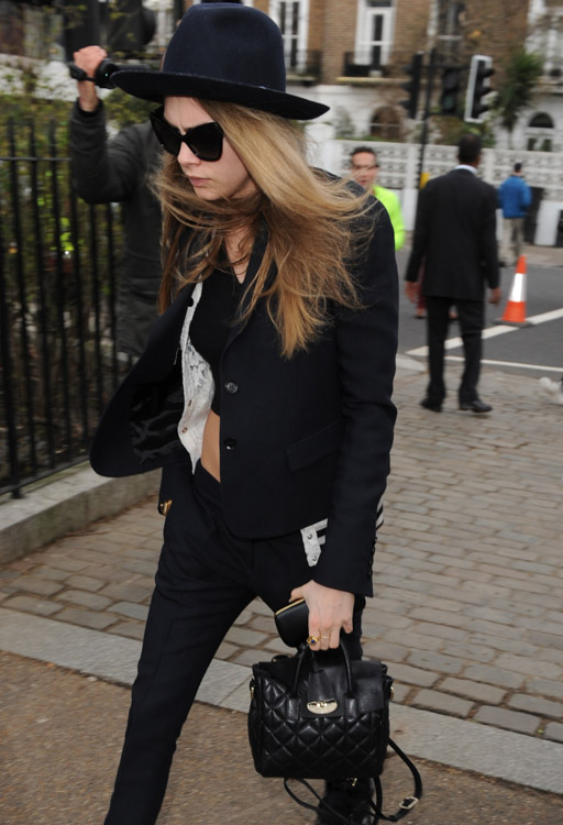 The Many Bags of London Fashion Week Fall 2014 Celebs-16