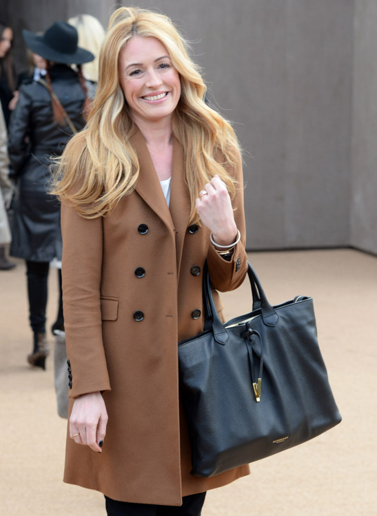 The Many Bags of London Fashion Week Fall 2014 Celebs-17