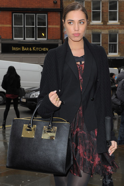 The Many Bags of London Fashion Week Fall 2014 Celebs-2