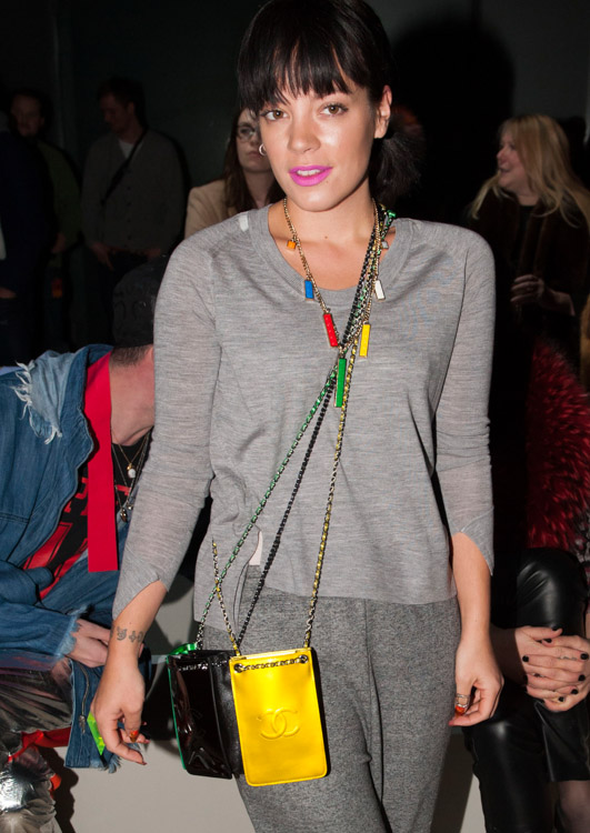 The Many Bags of London Fashion Week Fall 2014 Celebs-21