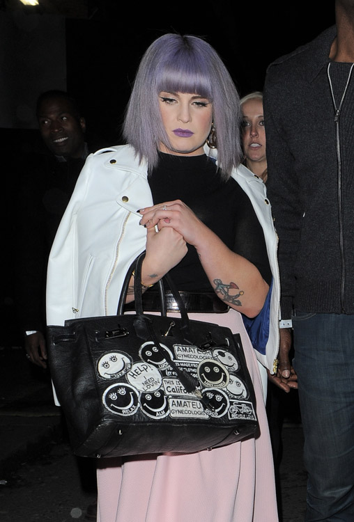 The Many Bags of London Fashion Week Fall 2014 Celebs-9