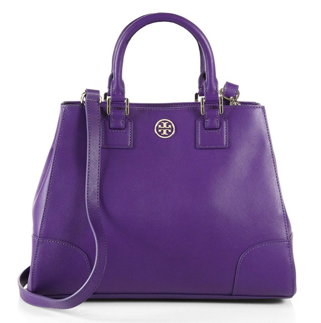 Tory Burch Robinson Triangular Tote