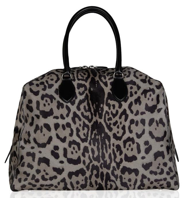 Alaia Leopard Calf Hair Bag
