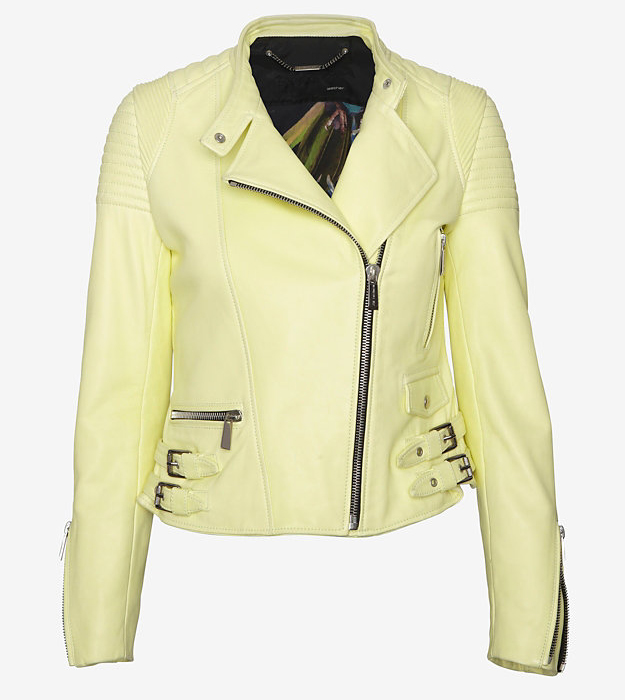 Barbara Bui Moto Leather Jacket