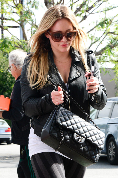 Celebrities and Their Chanel Bags-96