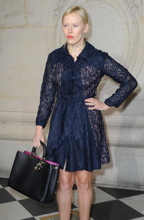 Celebrity Handbags at Paris Fashion Week Fall 2014-13