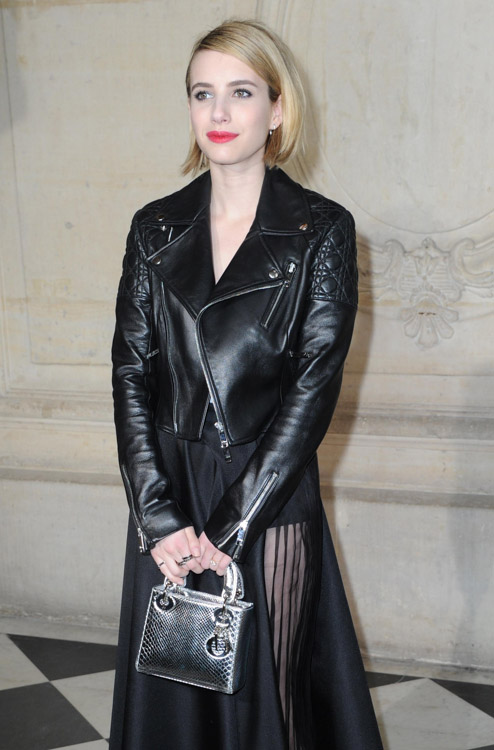 Celebrity Handbags at Paris Fashion Week Fall 2014-14