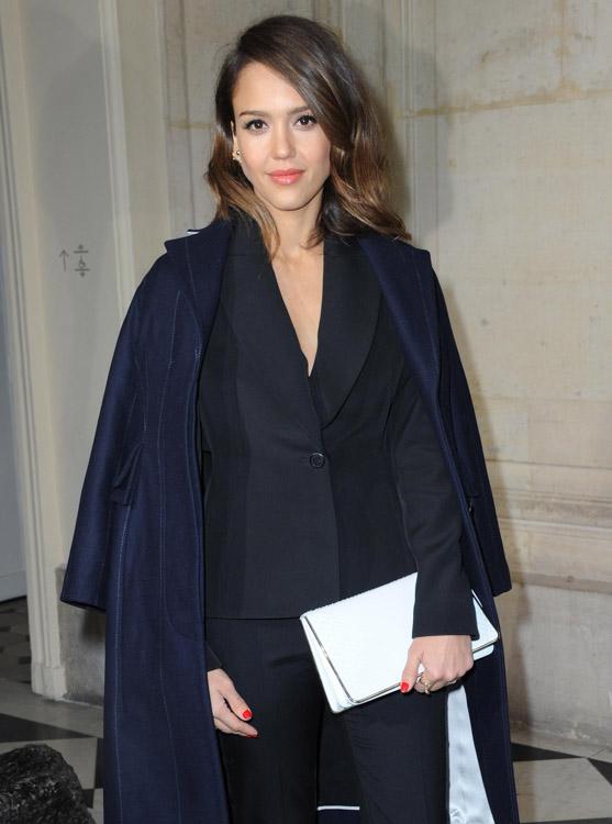 Celebrity Handbags at Paris Fashion Week Fall 2014-15