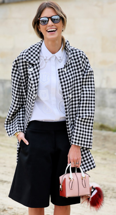 Celebrity Handbags at Paris Fashion Week Fall 2014-19