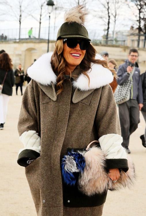 Celebrity Handbags at Paris Fashion Week Fall 2014-21
