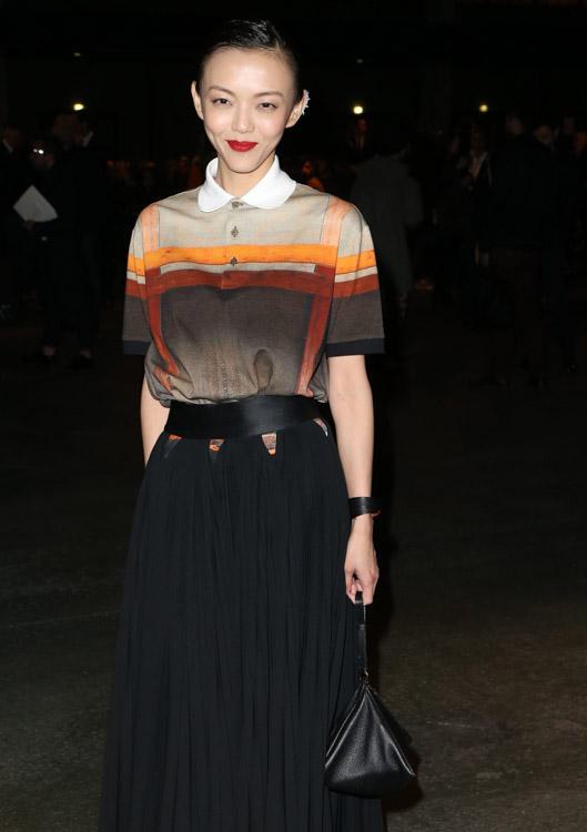 Celebrity Handbags at Paris Fashion Week Fall 2014-30