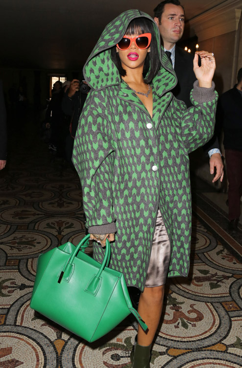 Celebrity Handbags at Paris Fashion Week Fall 2014-31
