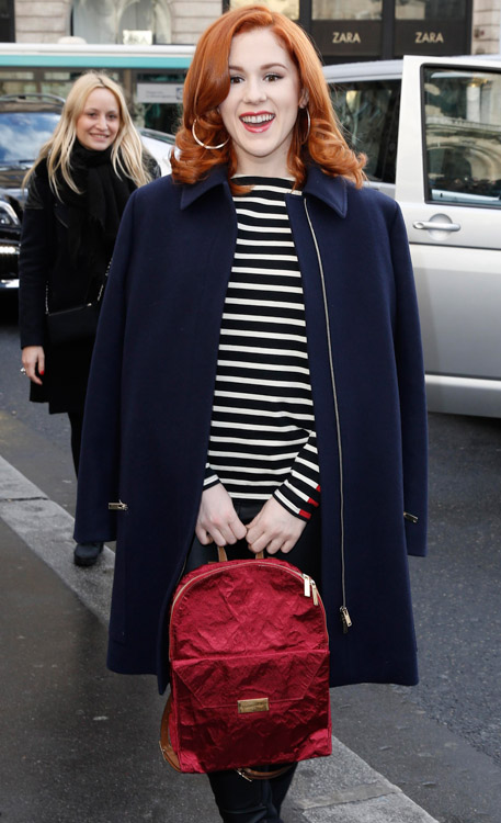 Celebrity Handbags at Paris Fashion Week Fall 2014-32