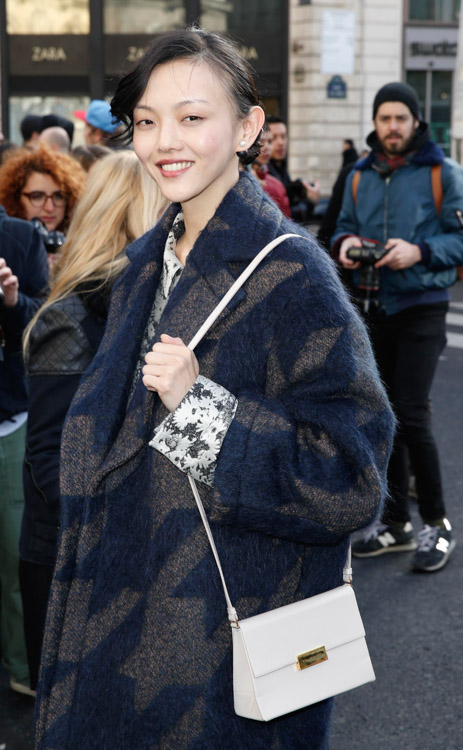 Celebrity Handbags at Paris Fashion Week Fall 2014-34