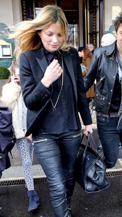 Celebrity Handbags at Paris Fashion Week Fall 2014-35