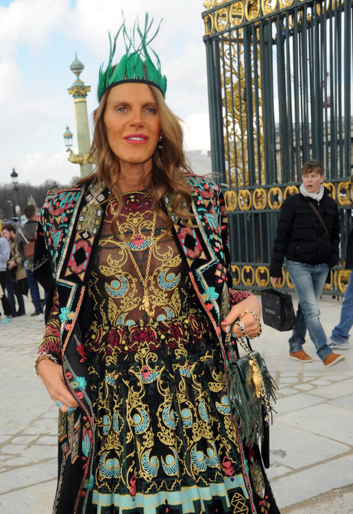 Celebrity Handbags at Paris Fashion Week Fall 2014-39