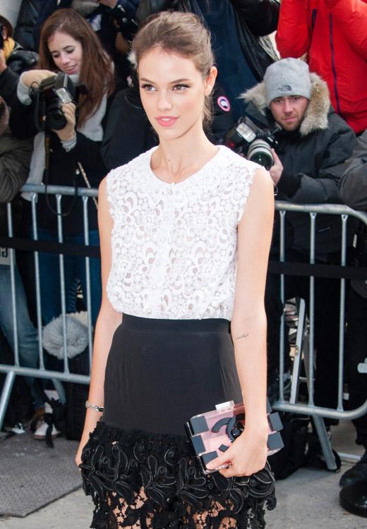 Celebrity Handbags at Paris Fashion Week Fall 2014-45