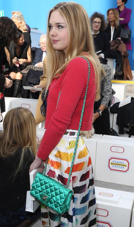 Celebrity Handbags at Paris Fashion Week Fall 2014-46