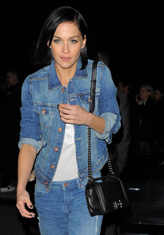 Celebrity Handbags at Paris Fashion Week Fall 2014-5