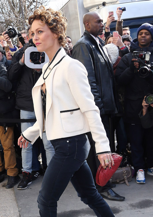 Celebrity Handbags at Paris Fashion Week Fall 2014-52