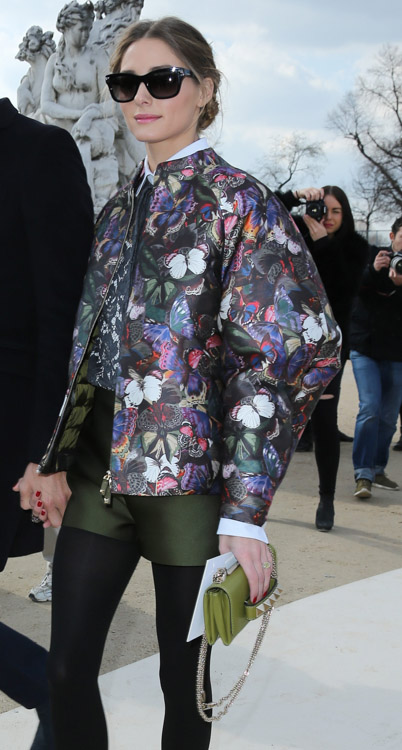 Celebrity Handbags at Paris Fashion Week Fall 2014-53