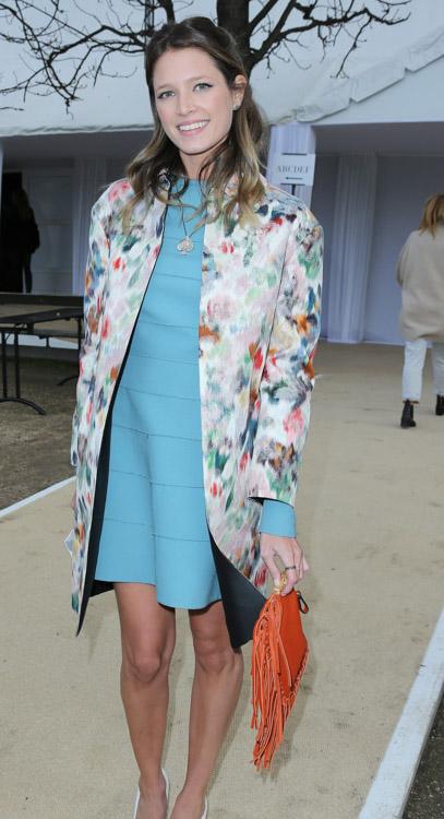 Celebrity Handbags at Paris Fashion Week Fall 2014-55