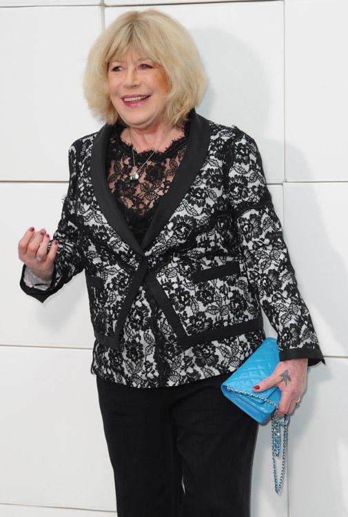 Celebrity Handbags at Paris Fashion Week Fall 2014-63